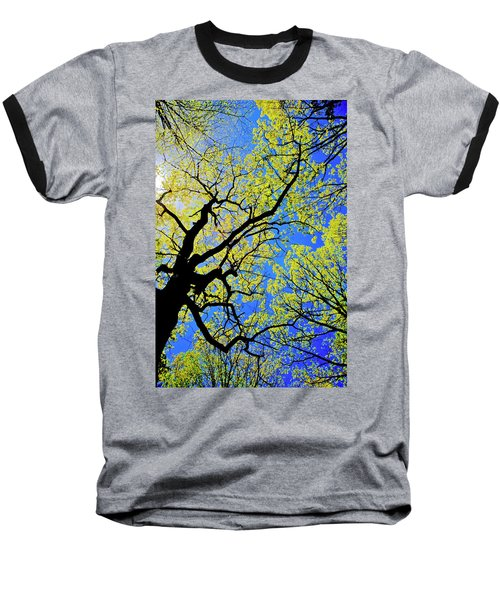 Artsy Tree Canopy Series, Early Spring - # 02 Baseball T-Shirt