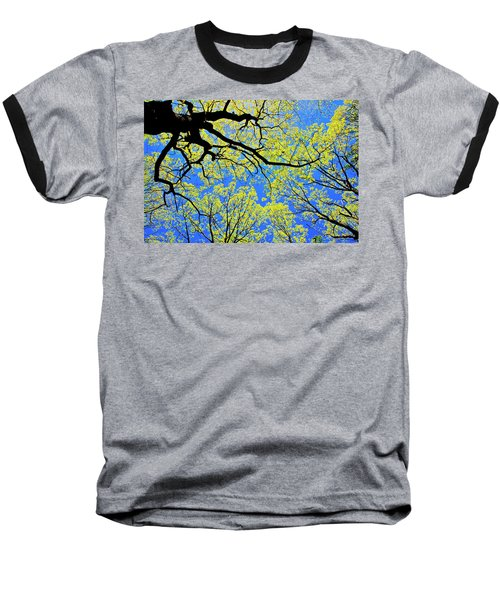 Artsy Tree Canopy Series, Early Spring - # 03 Baseball T-Shirt
