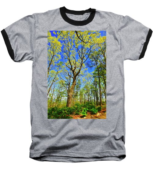 Artsy Tree Series, Early Spring - # 04 Baseball T-Shirt