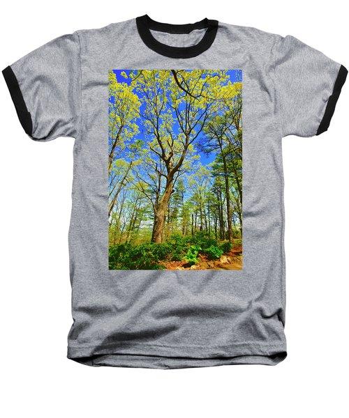 Artsy Tree Series, Early Spring - # 04 Baseball T-Shirt