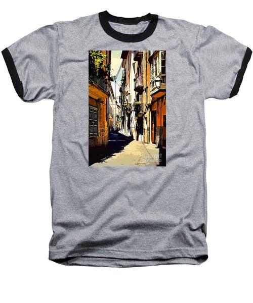 Artwork Palma De Mallorca Spain Baseball T-Shirt