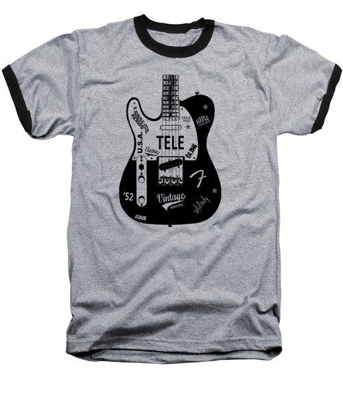Fender Telecaster 52 Baseball T-Shirt