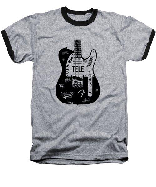 Fender Telecaster 64 Baseball T-Shirt