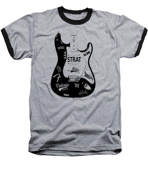 Fender Stratocaster 65 Baseball T-Shirt