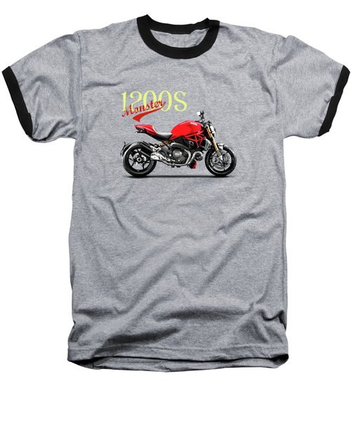 Ducati Monster Baseball T-Shirt