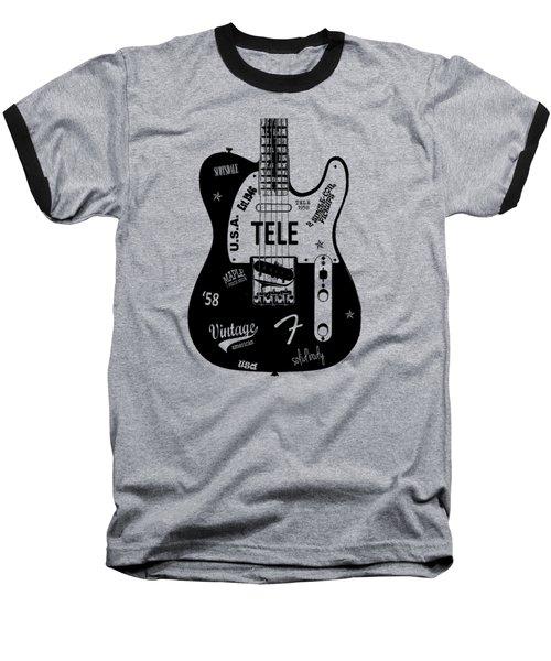 Fender Telecaster 58 Baseball T-Shirt