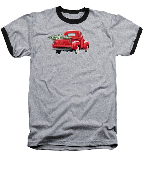 The Road Home Baseball T-Shirt by Sarah Batalka
