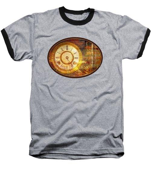 Time Marching Baseball T-Shirt
