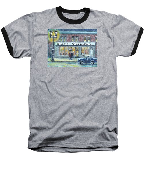 Griff Valentines' Birthday Baseball T-Shirt by Rita Brown