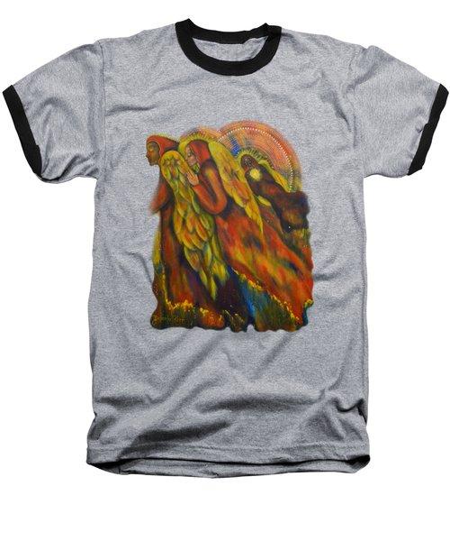 Heavenly Messengers Baseball T-Shirt