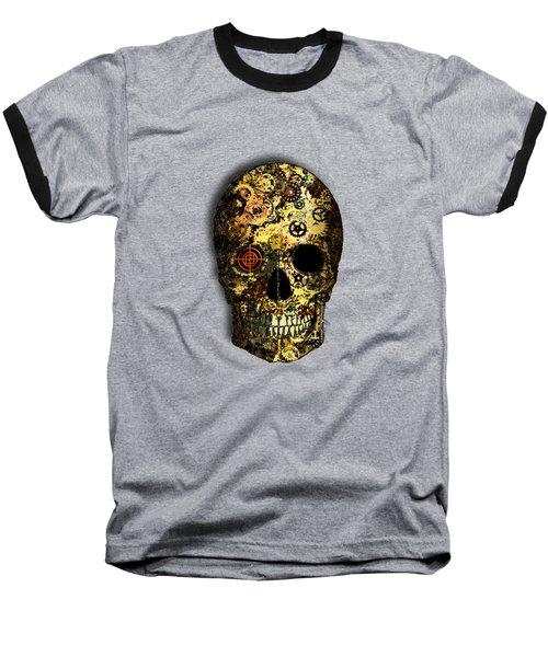 Skullgear Baseball T-Shirt by Iowan Stone-Flowers