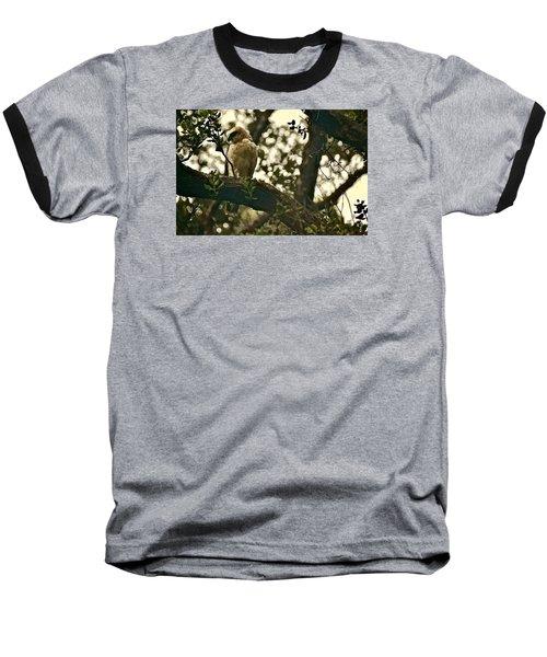 Io - Hawaiian Hawk Baseball T-Shirt