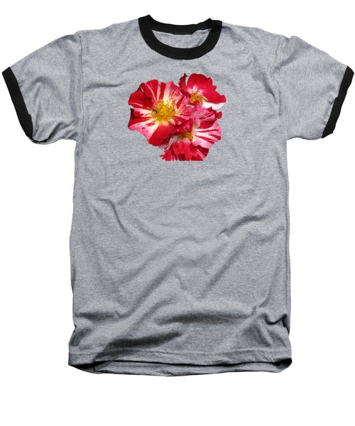 July 4th Rose Baseball T-Shirt