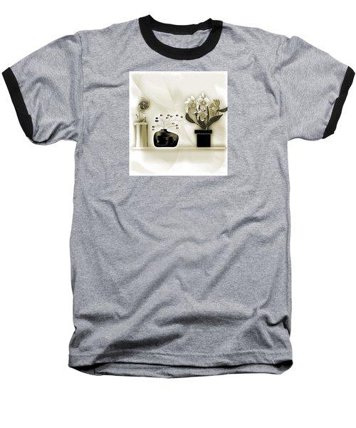Vase 3 Baseball T-Shirt by Iris Gelbart