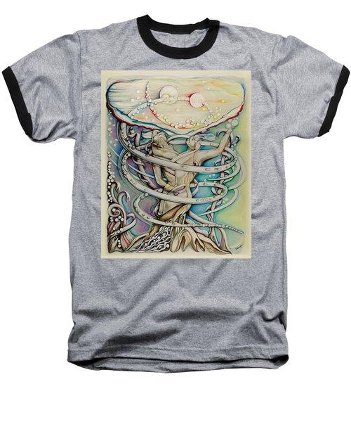 En L'air Par Terre Baseball T-Shirt