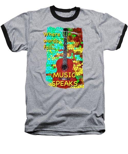 Guitar Fantasy Two Baseball T-Shirt