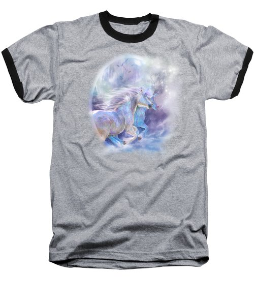 Unicorn Soulmates Baseball T-Shirt