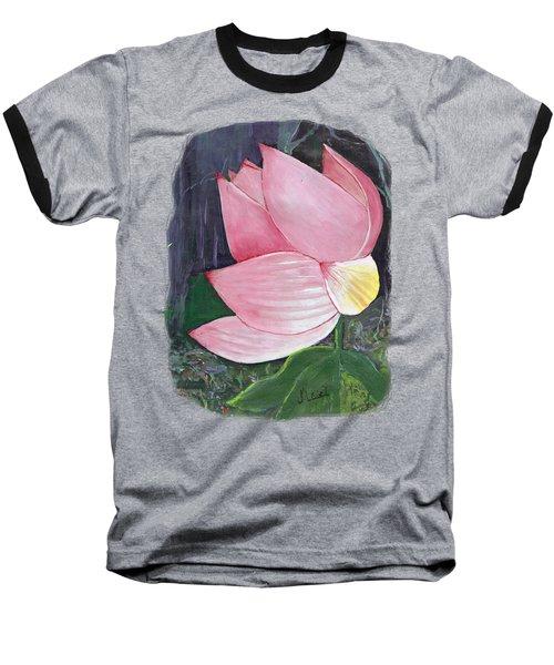 Pink Petals Baseball T-Shirt
