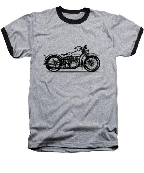 Harley Davidson 1933 Baseball T-Shirt by Mark Rogan