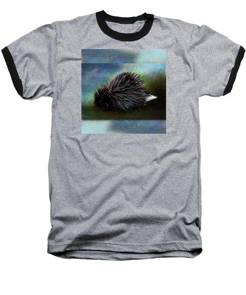Porcupine Baseball T-Shirt