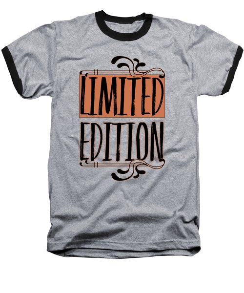 Limited Edition Baseball T-Shirt