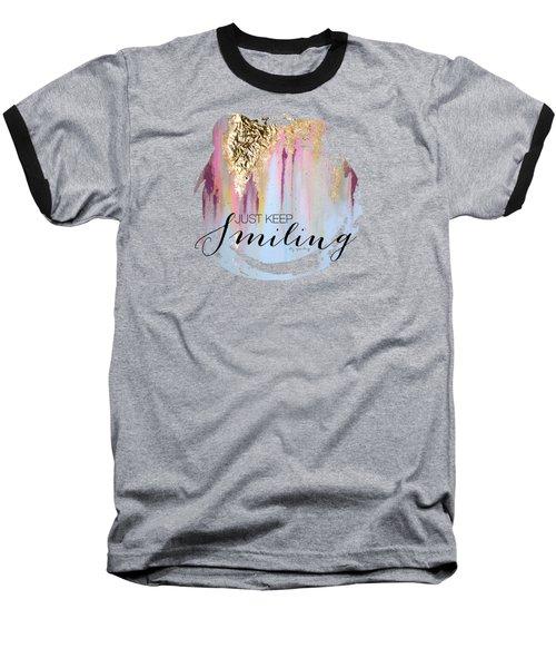 Makayla Baseball T-Shirt by Liz Sparling