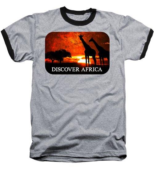 African Safari Baseball T-Shirt