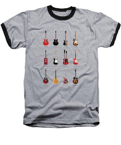 Guitar Icons No1 Baseball T-Shirt