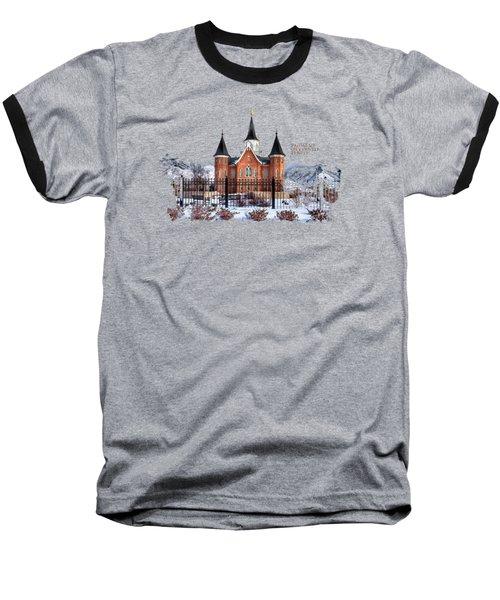 Provo City Center Temple Lds Large Canvas Art, Canvas Print, Large Art, Large Wall Decor, Home Decor Baseball T-Shirt