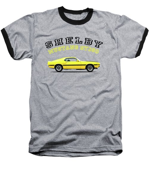 Shelby Mustang Gt350 1969 Baseball T-Shirt by Mark Rogan