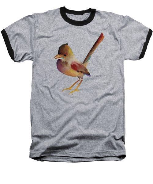 Wren Baseball T-Shirt by Francisco Ventura Jr