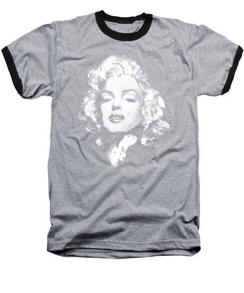 Marilyn Monroe Baseball T-Shirt by Haze Long