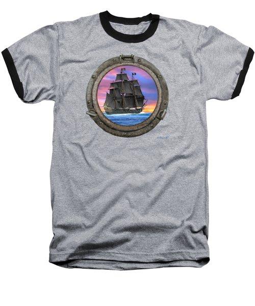 Black Sails Of The 7 Seas Baseball T-Shirt