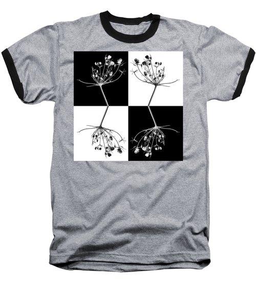 Organic Enhancements 9 Baseball T-Shirt by Paul Davenport