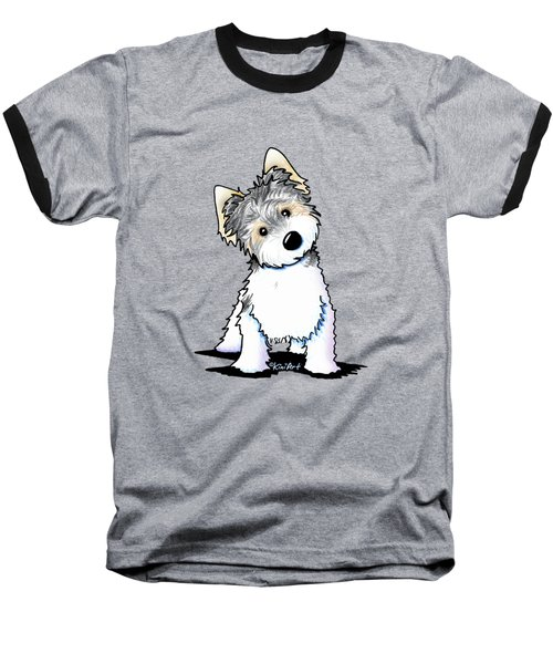 Cosmo Kiniart Petcature Portrait Baseball T-Shirt