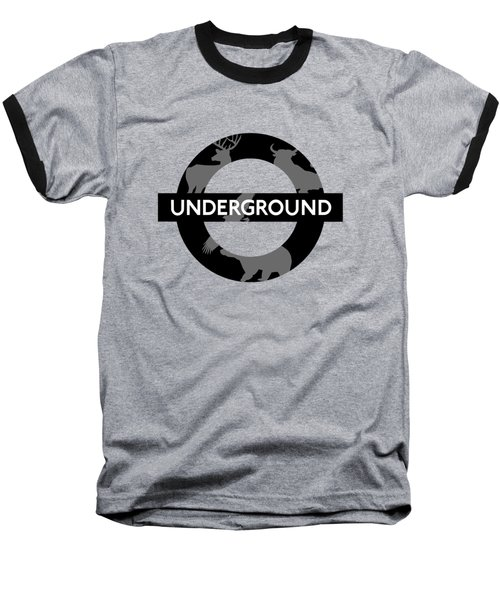 Underground Baseball T-Shirt by Alberto RuiZ
