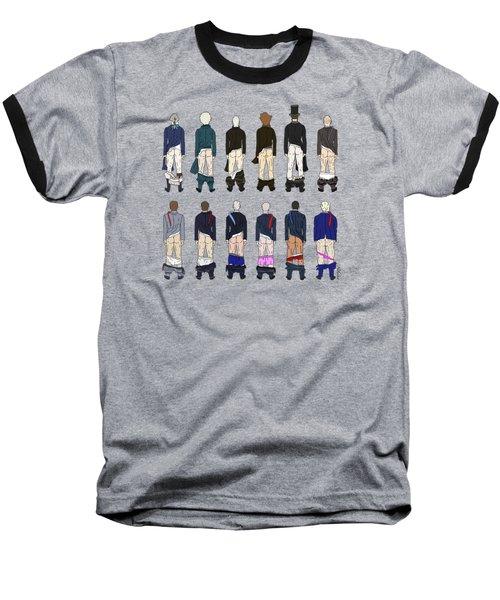 President Butts Baseball T-Shirt