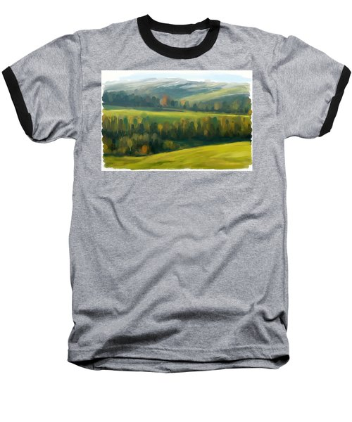 Rich Landscape Baseball T-Shirt