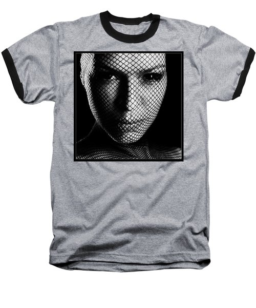 Face Lacemasked #4719 Baseball T-Shirt