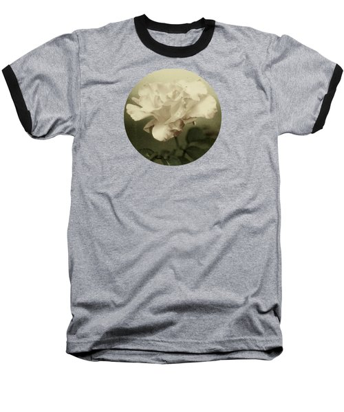 Baseball T-Shirt featuring the photograph Faded Rose by Mary Wolf