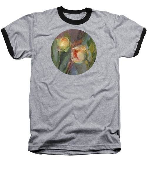 Evening Bloom Baseball T-Shirt by Mary Wolf