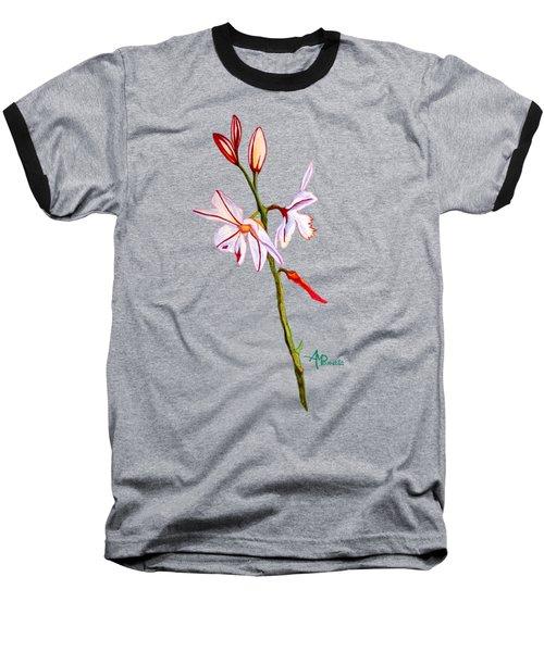 A Single Lily Baseball T-Shirt