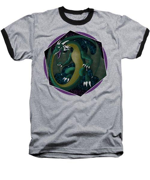 Electric Portal Dragon Baseball T-Shirt