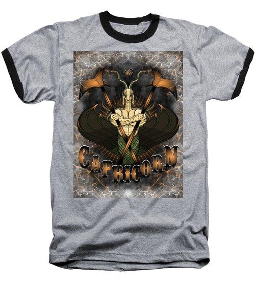 The Goat Capricorn Spirit Baseball T-Shirt