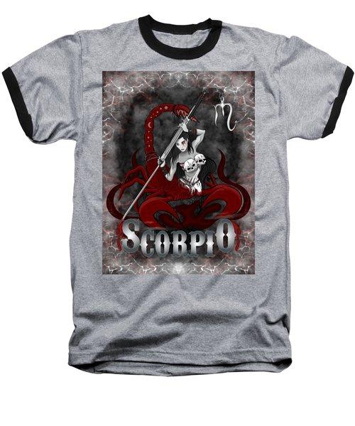 The Scorpion Scorpio Spirit Baseball T-Shirt
