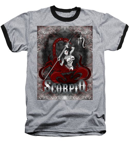 The Scorpion Scorpio Spirit Baseball T-Shirt