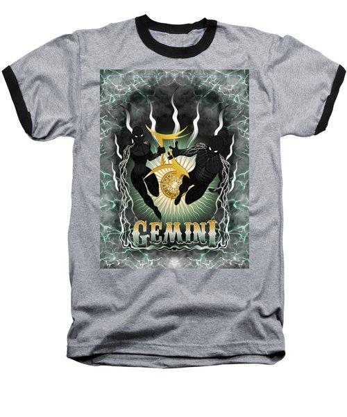 The Twins Gemini Spirits Baseball T-Shirt