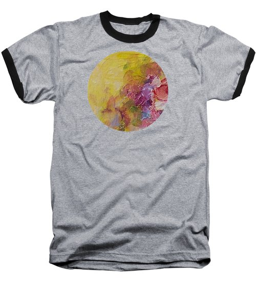 Floral Still Life Baseball T-Shirt by Mary Wolf