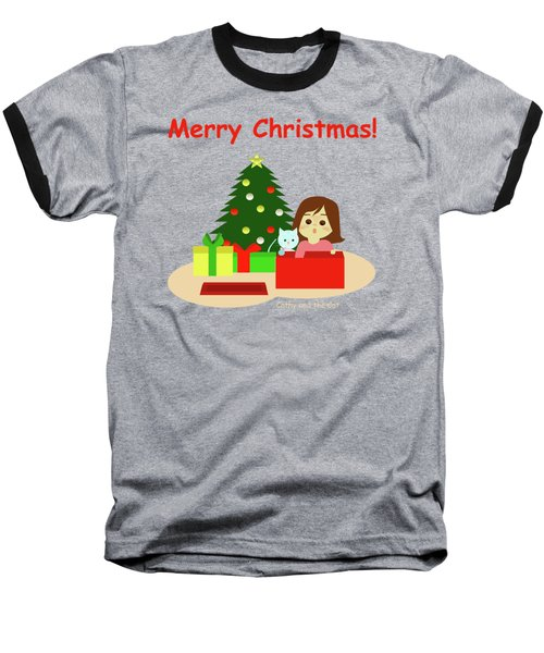 Christmas #1 Baseball T-Shirt