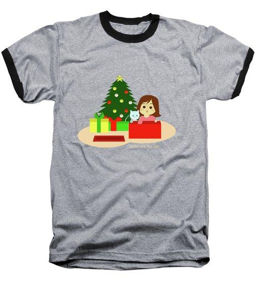 Christmas #1 No Text Baseball T-Shirt